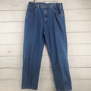 L.L. Bean Flannel Lined Relaxed Jeans